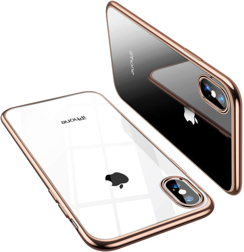 TORRAS Crystal Clear iPhone Xs Max Case, Anti-Yellowing Soft Shockproof TPU Slim fit Protective Case - TORRAS