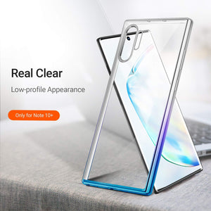 TORRAS Galaxy Note 10 Plus Case Crystal Clear Ultra-Thin Slim Fit Soft TPU Cover 6.8 inch - TORRAS
