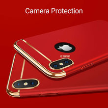 Load image into Gallery viewer, TORRAS Lock Series iPhone X/iPhone Xs 3-in-1 Luxury Anti-Scratch Hard with Electroplated Frame Case - TORRAS