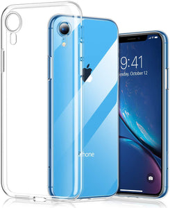 TORRAS Clear iPhone XR Case, Ultra Thin Slim Fit Soft Silicone TPU Protective Cover Cases - TORRAS
