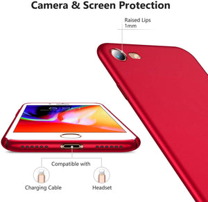 TORRAS Slim Fit iPhone 7/iPhone 8/iPhone SE Case 2020, Full Protective Anti-Scratch Resistant Case - TORRAS