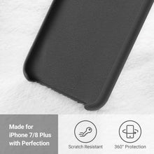 Load image into Gallery viewer, TORRAS Love Series iPhone 8 Plus/7 Plus, Liquid Silicone Gel Rubber Case Soft Microfiber Cloth - TORRAS