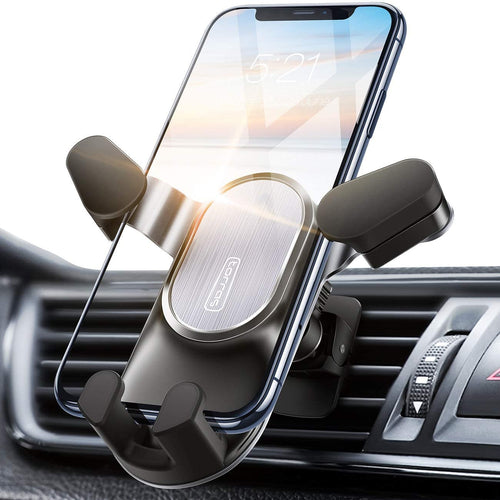 Car Phone Mount, [2020 Auto-Clamping] Air Vent Cell Phone Holder for Car Hands-Free Cradle - TORRAS