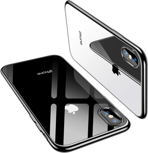 TORRAS iPhone Xs/iPhone X Case, Ultra Thin Slim Fit Soft Silicone TPU Cover Case 5.8 inch - TORRAS