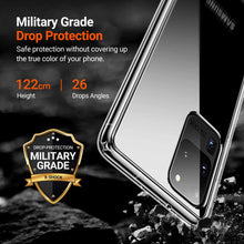 Load image into Gallery viewer, TORRAS Ultra Clear Designed for Samsung Galaxy S20 Ultra Case, Hard Plastic Back & Soft TPU Edge - TORRAS