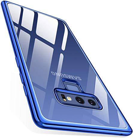 TORRAS Crystal Clear Galaxy Note 9 Case, Ultra Thin Slim Fit Soft TPU Gel Case Cover - TORRAS