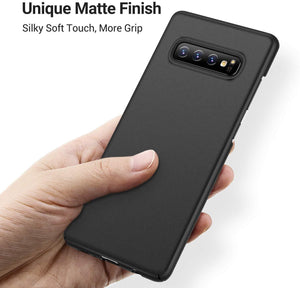 TORRAS Slim Fit Galaxy S10 Case, Ultra Thin Hard Plastic Full Protection Matte Finish Grip - TORRAS