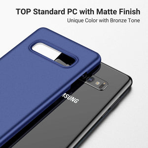 TORRAS Slim Fit Galaxy S10 Plus Case, Hard Plastic Ultra Thin Phone Case with Matte Finish Grip - TORRAS