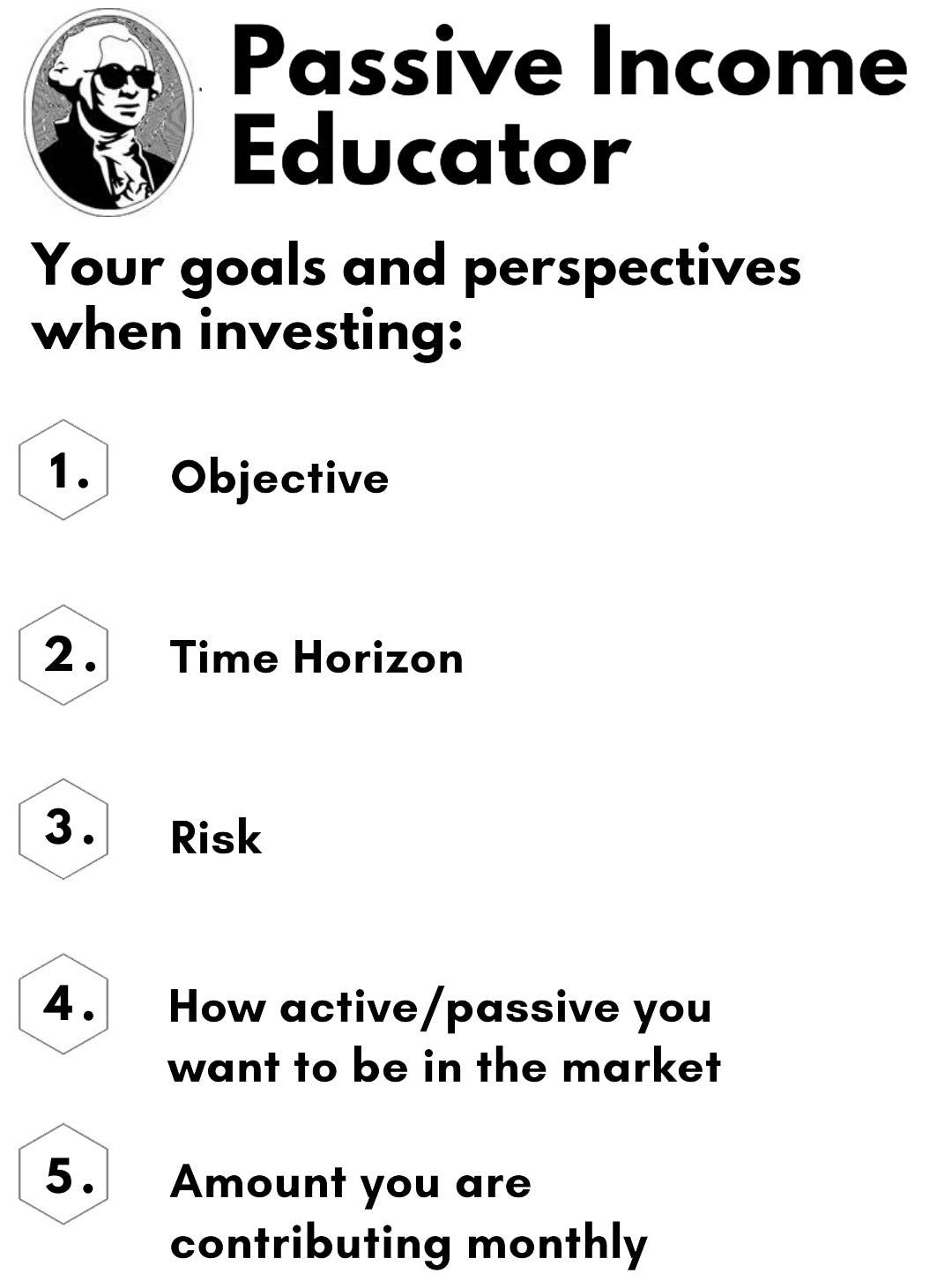 passive income time horizon