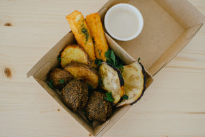 Middle Eastern Fry Box