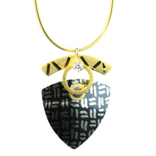Load image into Gallery viewer, Large Batik Triangle Necklaces