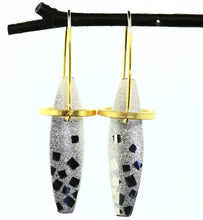 Load image into Gallery viewer, Halo Earrings-Silver, Vermeil, Niobium, Hiirodo Copper