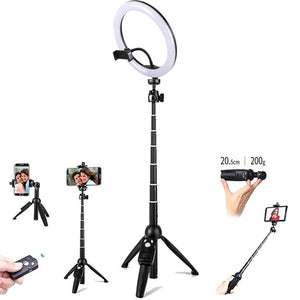 10inch 25cm USB charge New Selfie Ring Light Flash