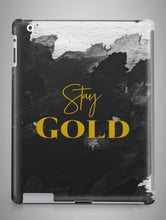Load image into Gallery viewer, Stay Gold Glitter iPad Case iPad Mini Case iPad