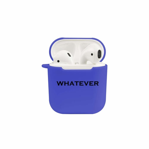 Soft TPU Airpod Protective Case - WHATEVER