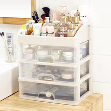 Load image into Gallery viewer, Large 3 Layers Makeup Organizer Drawer Cosmetic