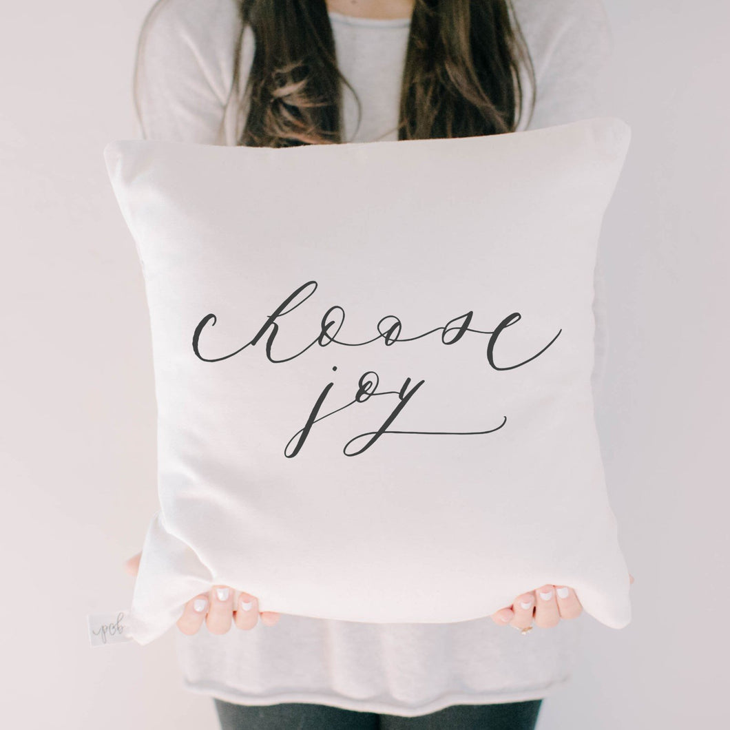 Choose Joy Pillow