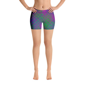Mermaid Green/Purple  leggings