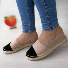 Load image into Gallery viewer, flat shoes platform shoes stitching  ladies