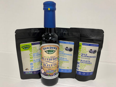 Wild Blueberry Sample Pack