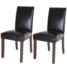 Load image into Gallery viewer, Zenvida Dining Chairs (Set of 2) Faux Leather Upholstered