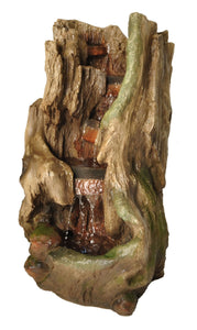 Zenvida Woodland Waterfall Outdoor Fountain 32""