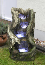 Load image into Gallery viewer, Zenvida Woodland Waterfall Outdoor Fountain 32""