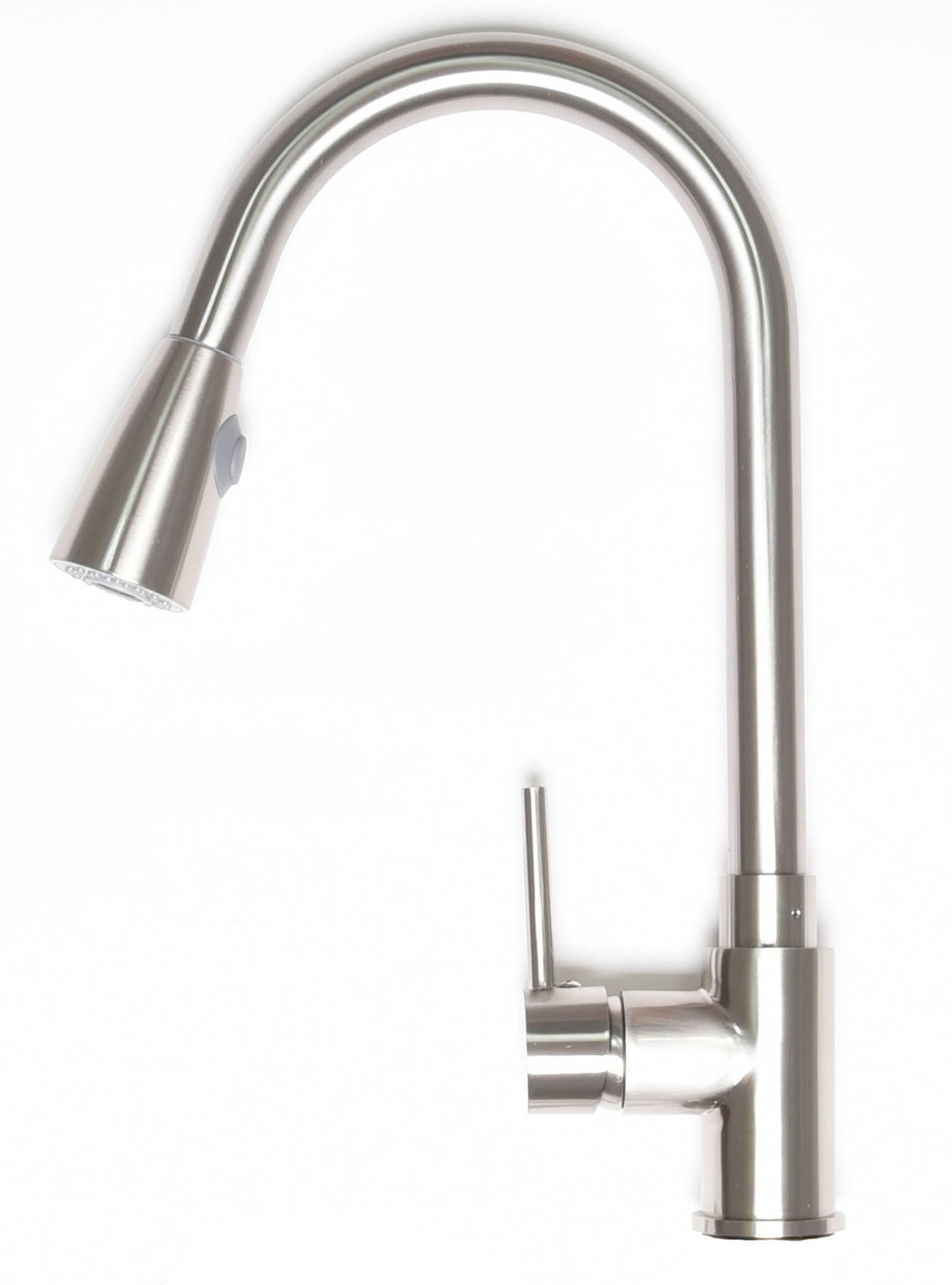 Zenvida Modern Single Handle High Arc Pull Down Lead Free Kitchen Faucet