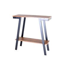 Load image into Gallery viewer, Zenvida Console Table, Narrow Sofa Table With Storage for Living Room, Entryway Modern Industrial Accent Table