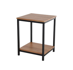 Zenvida End Table Modern Small 2 Tier Side Table Nightstand