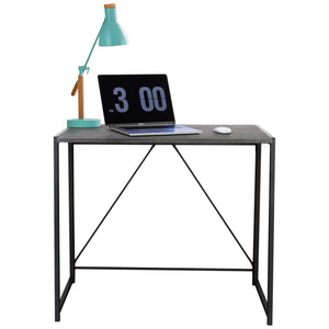 Zenvida Folding Computer Desk Home Office Laptop Study Table Compact Writing Desk
