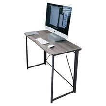 Load image into Gallery viewer, Zenvida Folding Computer Desk Home Office Laptop Study Table Compact Writing Desk