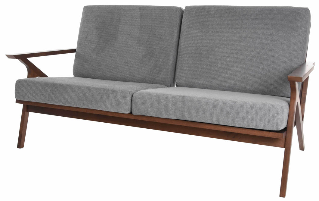 Zenvida Mid Century Loveseat Square Arm 59