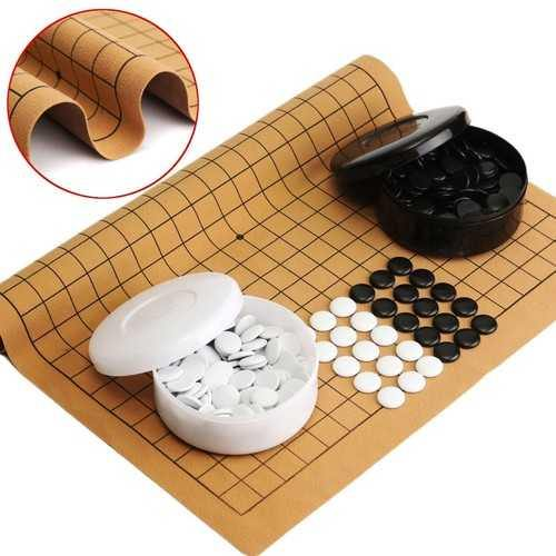 361PCS Weiqi Professional Go Game Suede Leather Sheet Chinese Play Fun - NorCal Cyber Sales