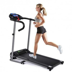 1100w Foldable Electric Support Motorized Power Running Treadmill