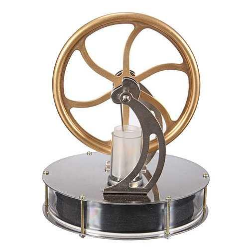 Low Temperature Stirling Engine Motor Temperature Difference Cool Model Educational Toy - NorCal Cyber Sales