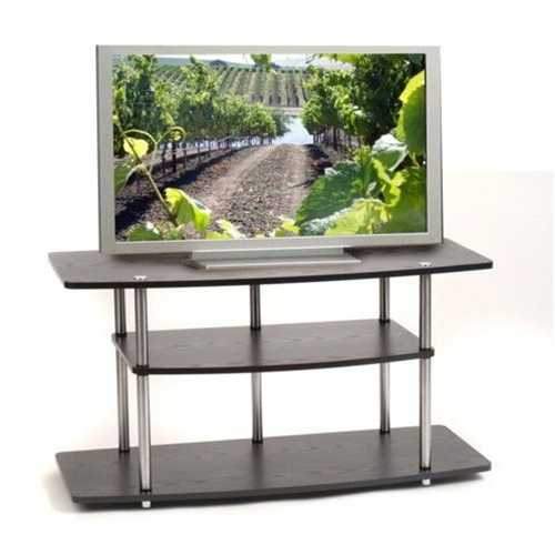 Black 42-Inch Flat Screen TV Stand by Convenience Concepts - NorCal Cyber Sales