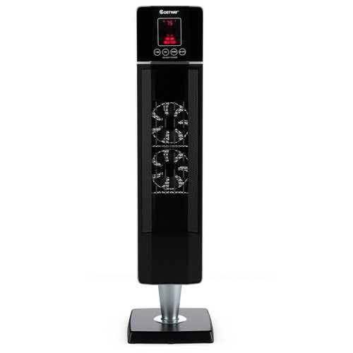 1500W Portable Tower Heater with Timer Remote Control