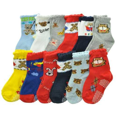 Case of [120] Angelina Baby Cotton Blend Socks - Size 12-24M - NorCal Cyber Sales