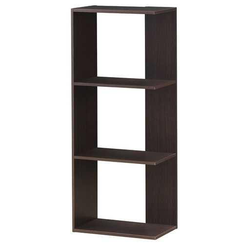 3-tier Freestanding Decorative Storage Wooden Bookcase