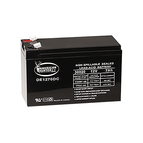 Powerstar 12V 7AMP Rechargeable Battery - NorCal Cyber Sales