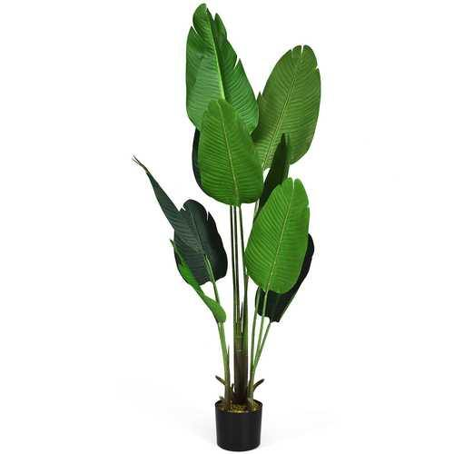 5.3 FT Artificial Decorative Tropical  Indoor-Outdoor Tree