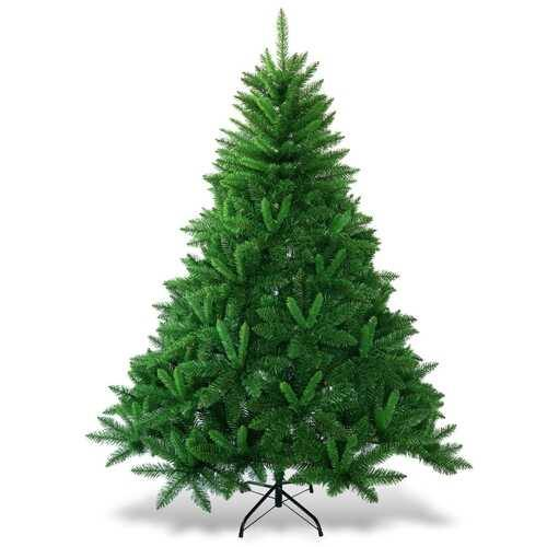 6 ft Encryption Premium PVC Artificial Christmas Tree-6' - Color: Green - Size: 6'