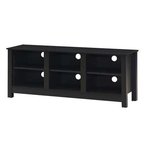 "60""  Entertainment TV Stand Cabinet-Black"