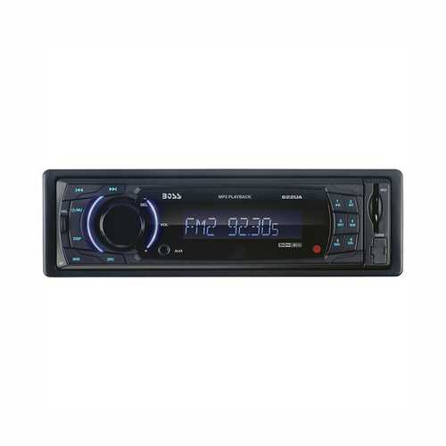 Boss Single-DIN In-Dash MP3-Compatible Digital Media Receiver with Front USB/AUX/SD Card Input - NorCal Cyber Sales