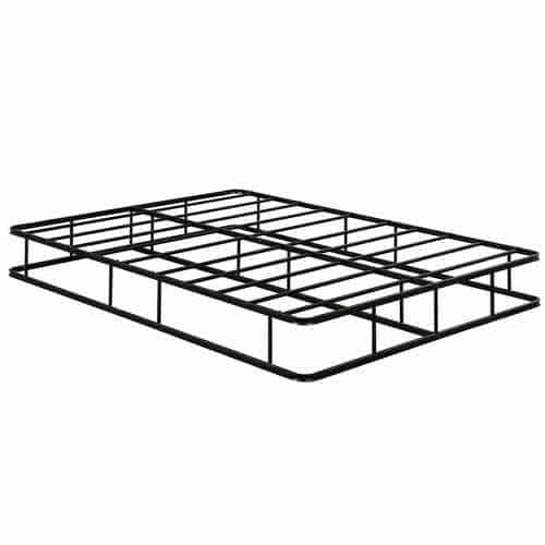 9 Inch Platform Low Profile Bed Frame Steel Slat Mattress Foundation