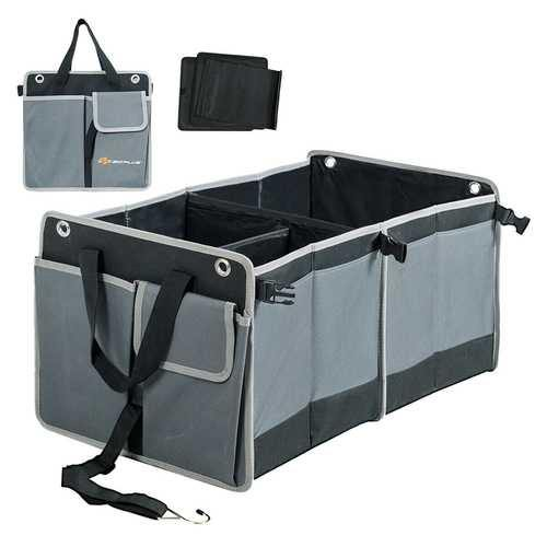 Foldable Multi-compartments Cargo Storage Car Trunk Organizer - NorCal Cyber Sales