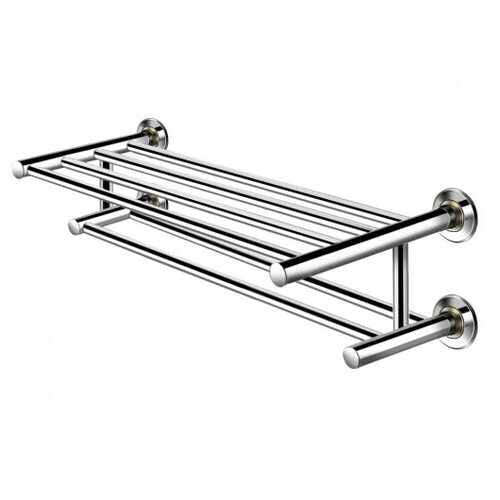 Wall Mounted Stainless Steel Towel Storage Rack - NorCal Cyber Sales