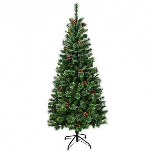 6 ft Premium Hinged Artificial Christmas Tree - NorCal Cyber Sales