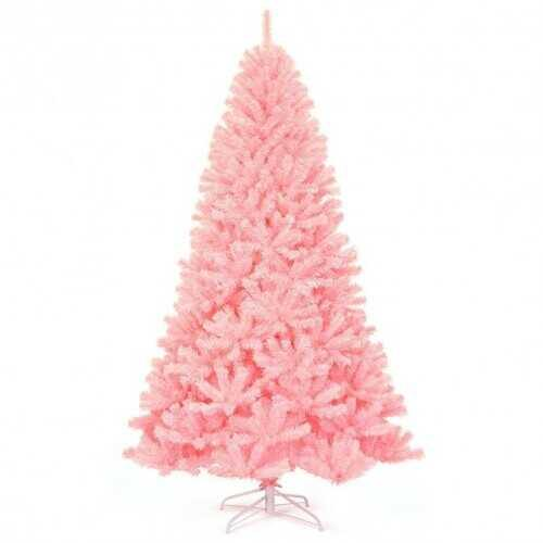 7.5Ft Hinged Artificial Christmas Tree Full Fir Tree - NorCal Cyber Sales